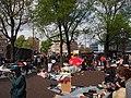 Koningsdag in Amsterdam, Haarlemmerplein foto 3.JPG