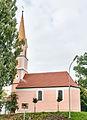 Kröning-Geiselsdorf Neben Haus Nr 4 - Kirche 2013.jpg
