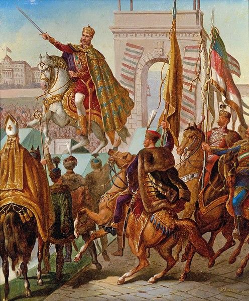 File:Krönung Franz Joseph zum König von Ungarn 1867.jpg