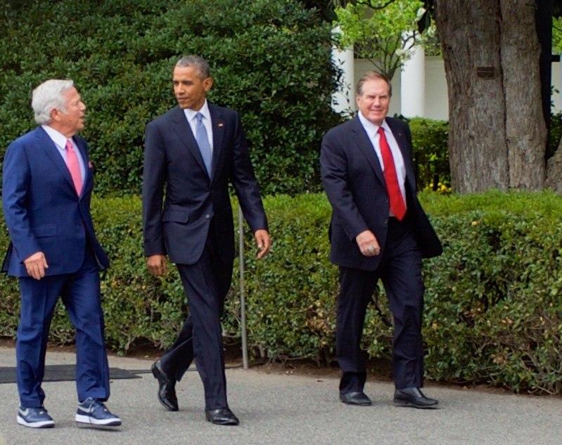 Kraft, Obama & Belichick (2015)