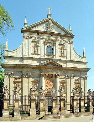 Giovanni Battista Trevano - Kraków - St Peter and Paul Church