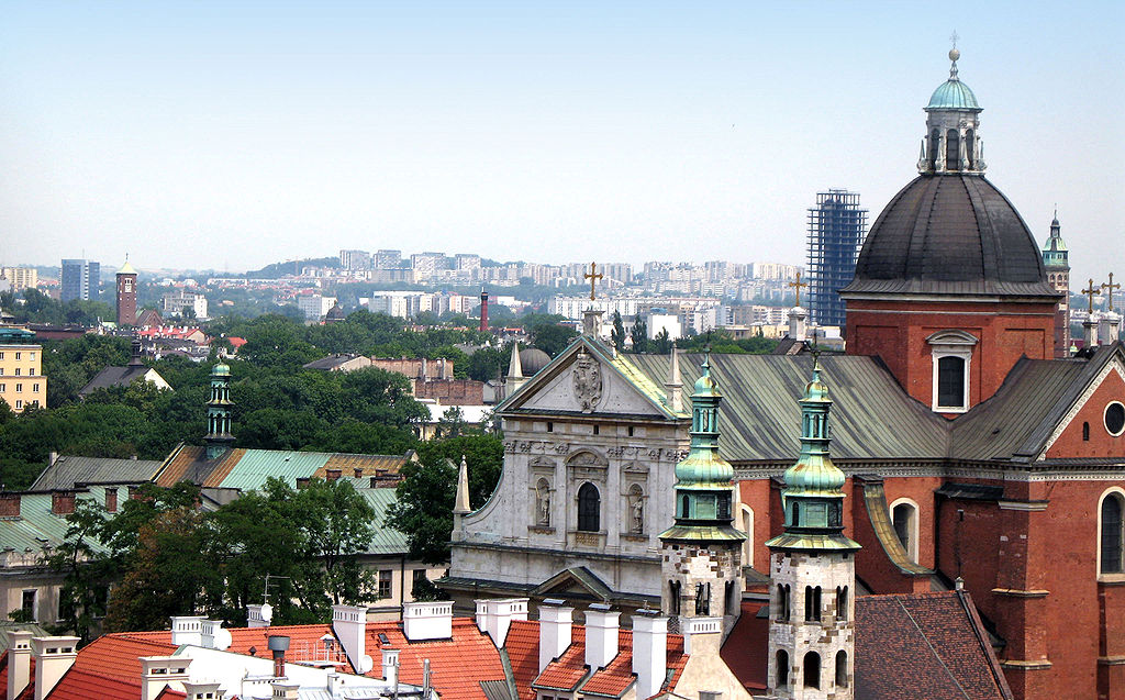 Chiesa del centro storico di Cracovia.