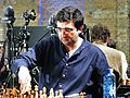 Kramnik in der 18. WM-Blitzrunde 2015 (siegreich gegen Aronjan).JPG