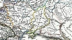 O canato em 1550