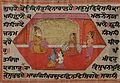 Krishna and Balrama seated with Nanda and Yashodha - Unknown, Kashmir School - Google Cultural Institute.jpg