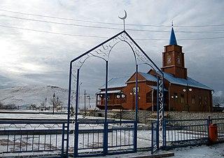 Karkaraly Place in Karaganda Region, Kazakhstan