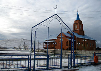Karkaraly - Kunabaev mosque