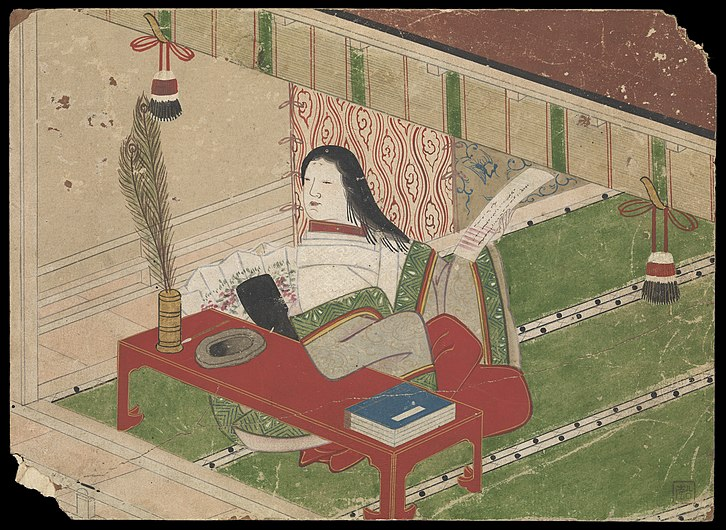 Kusozu; the death of a noble lady and the decay of her body. Wellcome L0070288.jpg