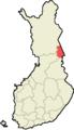 Kuusamo Suomen maakuntakartalla.png