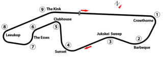 1977 South African Grand Prix Formula One motor race held in 1977