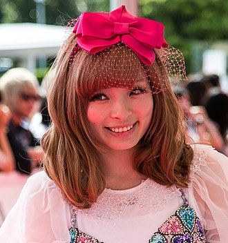 Kyary Pamyu Pamyu - Kyary at the 2014 MTV Video Music Awards Japan red carpet