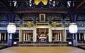 Kyoto Nishi Hongan-ji Gründerhalle Innen 3.jpg