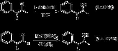 Permutationsreaktion mit L-Selektrid