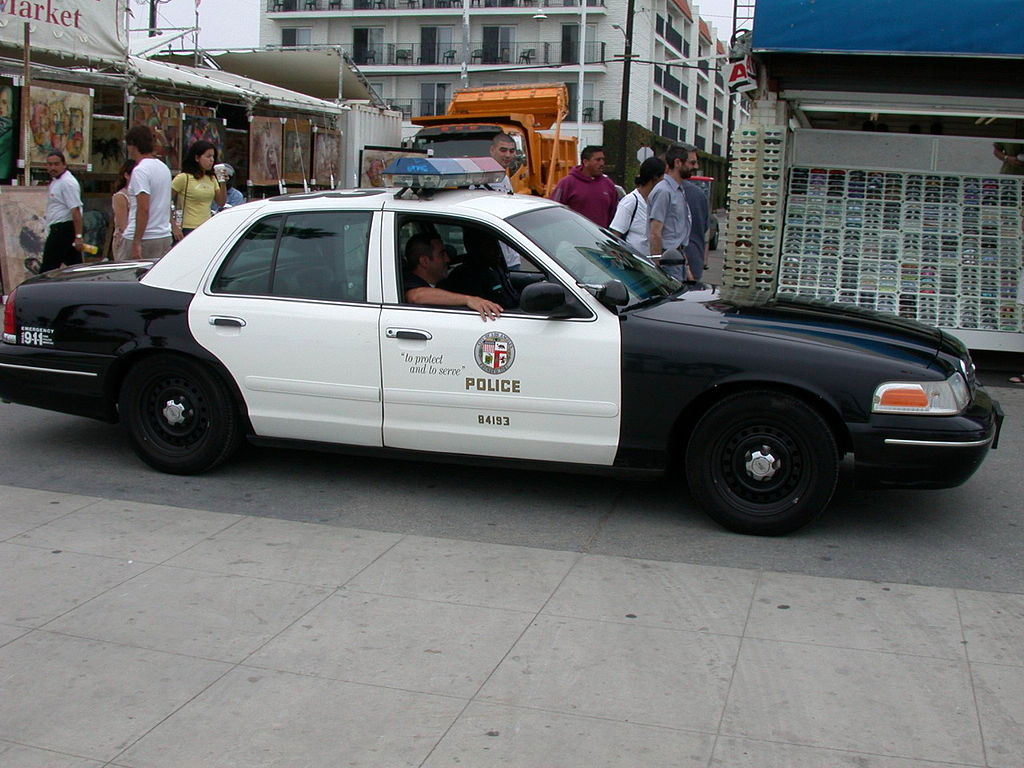 File Lapd Police Car Jpg Wikimedia Commons