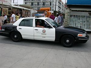 Police Interceptor of the Los Angeles Police D...