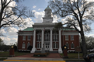 Lincoln County Courthouse in Lincolnton