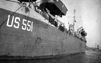 USS Chesterfield County (LST-551) - LST-551