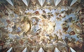Casón del Buen Retiro - The Allegory of the Golden Fleece, by Luca Giordano.