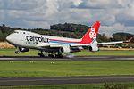 LX-TCV Boeing 747-400 Cargolux (29432372476).jpg