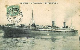 La provence paquebot de 1906 wikip dia - Le journal de la provence ...
