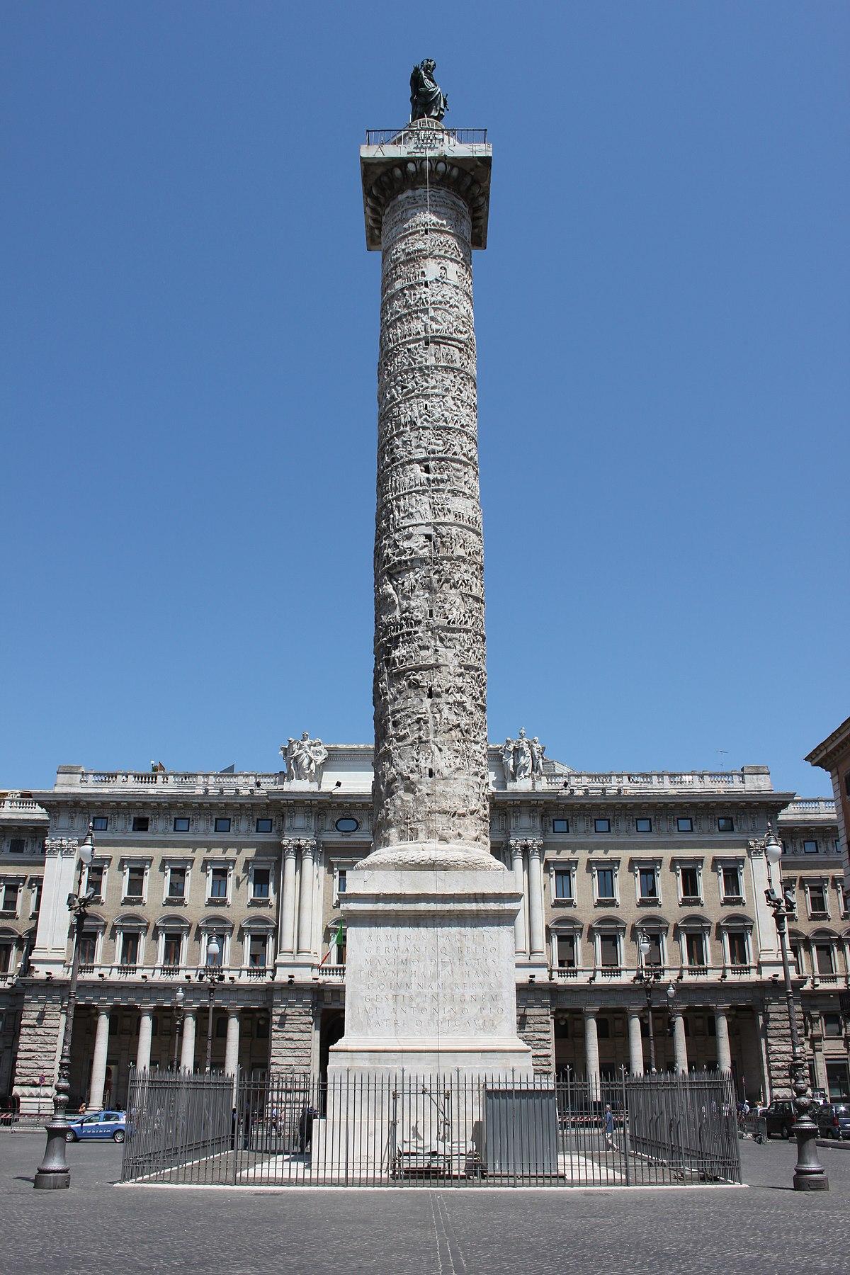 Colonna Di Marco Aurelio Wikipedia