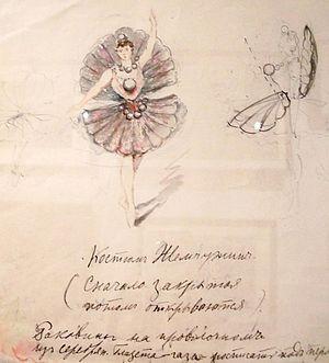 La Perle (ballet) - Image: La Perle costume design