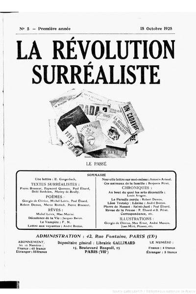File:La Révolution surréaliste, n05, 1925.djvu