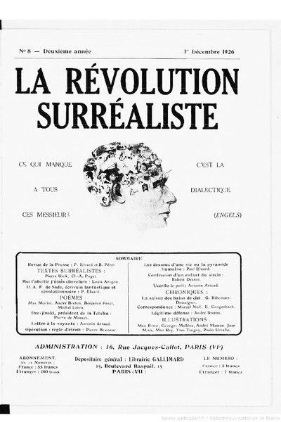 File:La Révolution surréaliste, n08, 1926.djvu