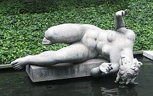 La Rivière (Maillol) - Image: La Rivière by Aristide Maillol (Museum of Modern Art New York)