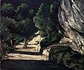 La Route forestière, par Paul Cézanne, Yorck.jpg
