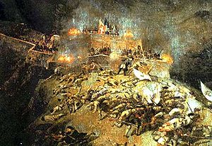 Battle of Assietta - The death of the Chevalier de Belle-Isle