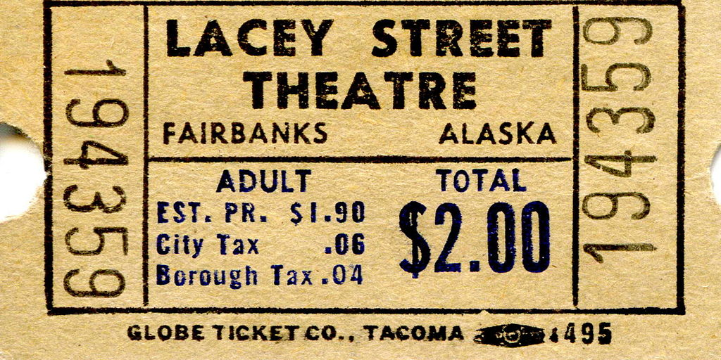 file lacey street theatre ticket wikimedia commons. Black Bedroom Furniture Sets. Home Design Ideas