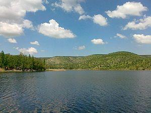 Lake Eymir - Image: Lake Eymir 2
