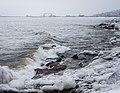 Lake Waves, Duluth 2 20 18 -winter -lakesuperior (40389108851).jpg
