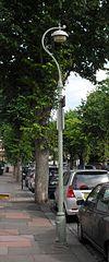 Lanterna kolono en 5 Park Terrace de reĝino, Brajtono (IoE Code 481109).jpg