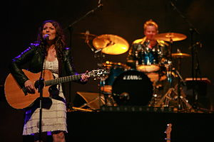 Lana Wolf - Lana Wolf at the American Country Legends, World Forum Theater, The Hague, 2015