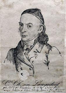 Karl Christian von Langsdorf German scientist and engineer
