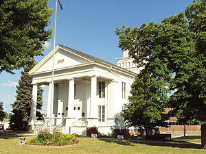 Lapeer, Michigan - Lapeer County Courthouse