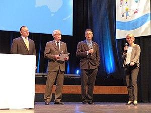 World Congress of Families - Image: Larry Jakobs , Brian Brown, Allan C. Carlson World Congress of Families XI