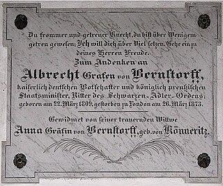 Albrecht von Bernstorff German diplomat