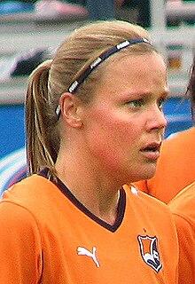 Laura Österberg Kalmari Finnish association football player
