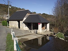 The lavoir of Escoubès