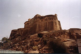Sikar - Laxmangarh Fort, Rajasthan, built in 1862 AD