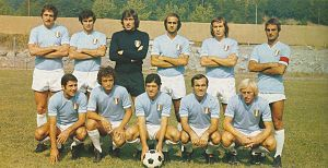 S.S. Lazio - S.S. Lazio team which won the club's first scudetto in 1974