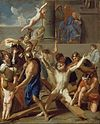 Le Brun, Charles - The Martyrdom of St. Andrew - Google Art Project.jpg
