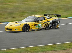Chevrolet Corvette w barwach Corvette Racing