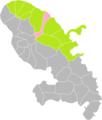Le Marigot (Martinique) dans son Arrondissement.png