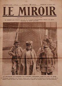 Le miroir hebdomadaire photographique wikip dia for Prisonniers du miroir