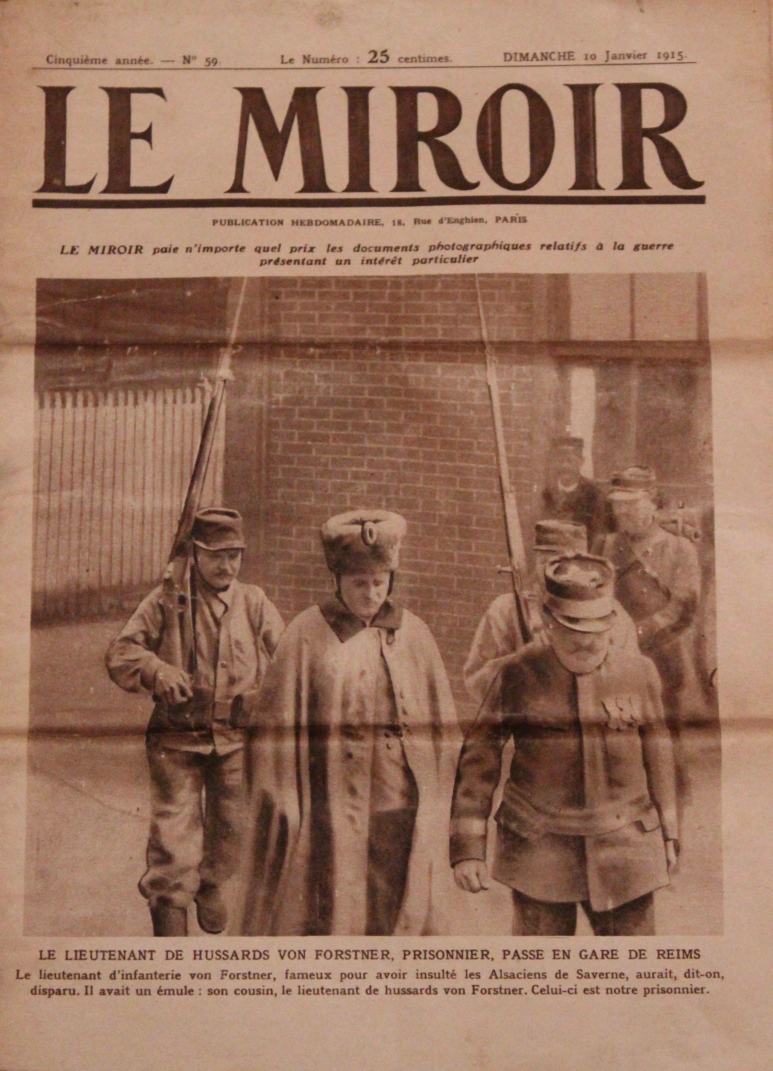 Fichier le miroir n 59 dimanche 10 janvier 1915 jpg for Miroir wikipedia