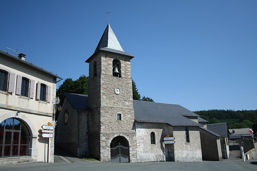 Le Soulié (Hérault) - église Saint-Jean.
